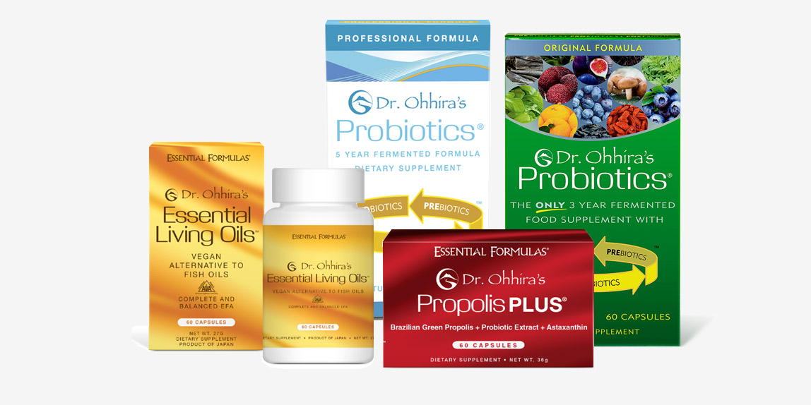 SHOP DR. OHHIRA PROBIOTICS